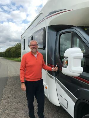 Richard Gordon – keeping the journey going, no matter the pace